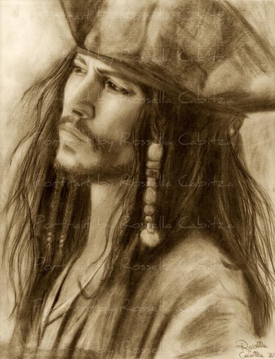 Johnny Depp by rossella